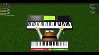 Mary Had A Little Lamb, Roblox Piano/Keyboard