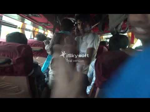 Taxi Taxi Song dance live on Bus || Bethlehem institute of Engineering || Mechanical 2015 Batch