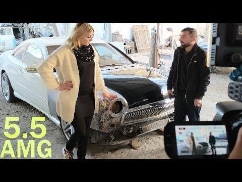 Volga 5.5 AMG - Gizli Qarajda Yığılan Dünyada Bir Dənə