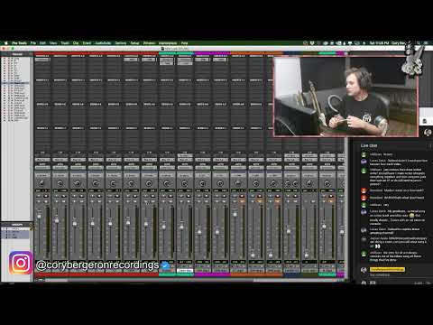 LIVE DRUM EDITING/MIXING - COME HANG!