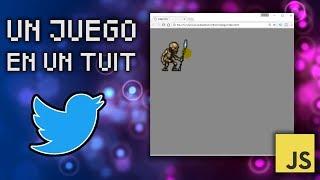 Un Juego en un Tuit 🎮Cómo Programar Tu Primer Videojuego