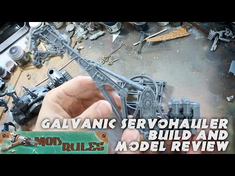 Model Build and Review: Sector Mechanicus Galvanic Servohaulers