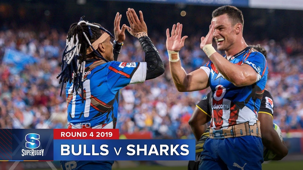 Bulls v Sharks | Super Rugby 2019 Rd 4 Highlights