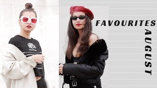 AUGUST FAVOURITES | Tejaswi |Day 7 l Fashion , Make up,  Music
