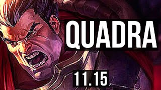 DARIUS vs SETT (TOP) | 2.7M mastery, Quadra, 7 solo kills, 1000+ games | EUW Diamond | v11.15