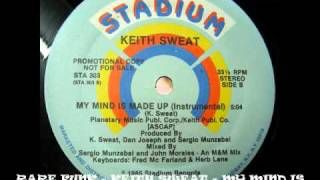 RARE FUNK - KEITH SWEAT - MY MIND IS MADE UP BY DR JEKYL WWW.FUNKPOWER.FR