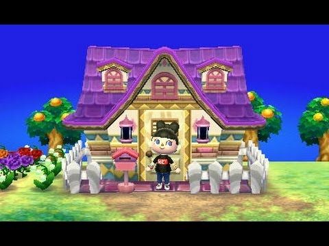Animal crossing new leaf pr sentation de ma maison for Agrandissement maison animal crossing wii