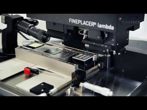 Face-up Assembly of VCSEL and PD - FINEPLACER® lambda