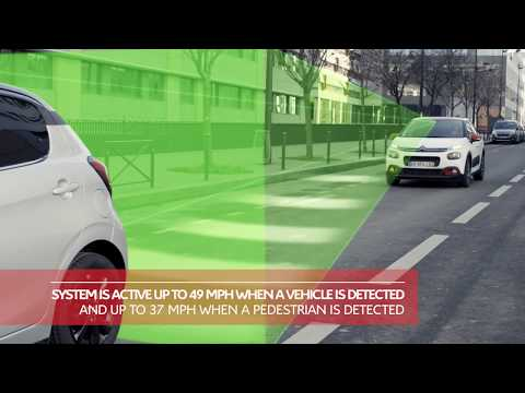Citroën C3: Active Safety Brake