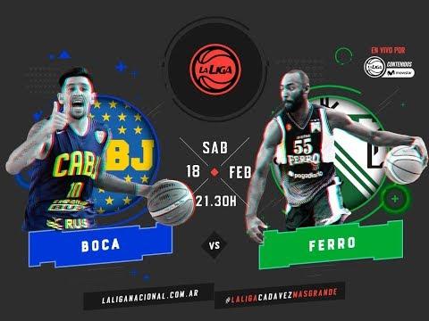 Liga Nacional: Boca vs. Ferro | #LaLigaEnTyCSports