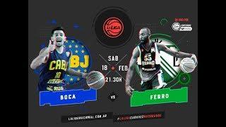 Liga Nacional Boca vs. Ferro LaLigaEnTyCSports