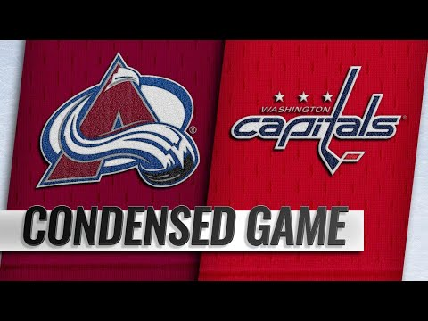 02/07/19 Condensed Game: Avalanche @ Capitals