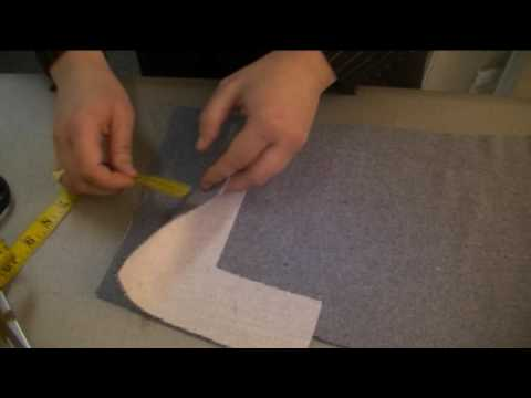 how-to-make-a-tailored-jacket - sleeve mitred corner