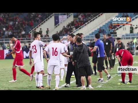 Toàn cảnh phản ứng của HLV Park Hang-seo trong trận đấu với CHDCND Triều Tiên