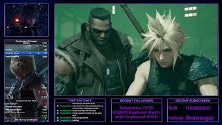 Final Fantasy VII Remake | Demo Speedrun in 14:24 (Current PB; Former WR) | Normal Mode