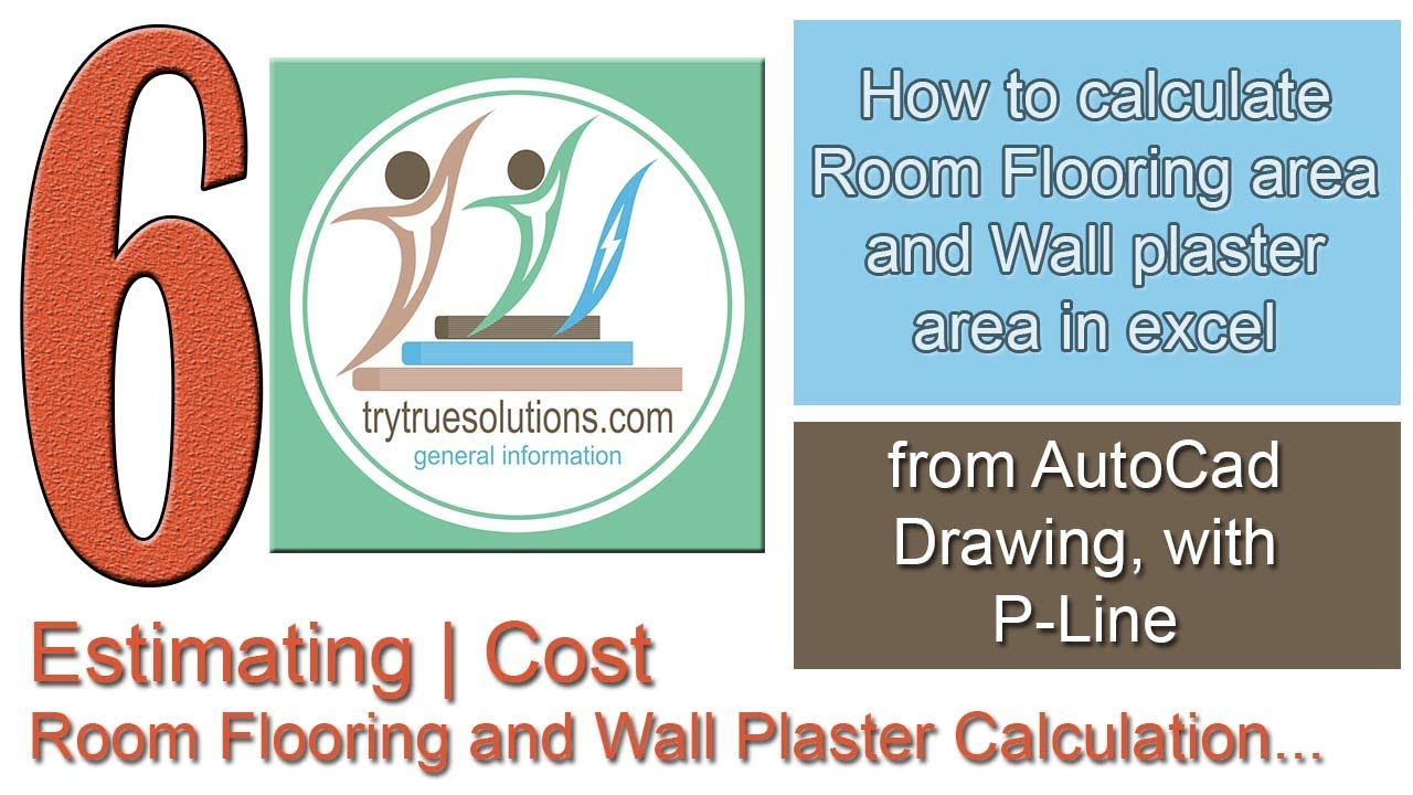 How To Calculate Room Flooring Area And Wall Plaster Area