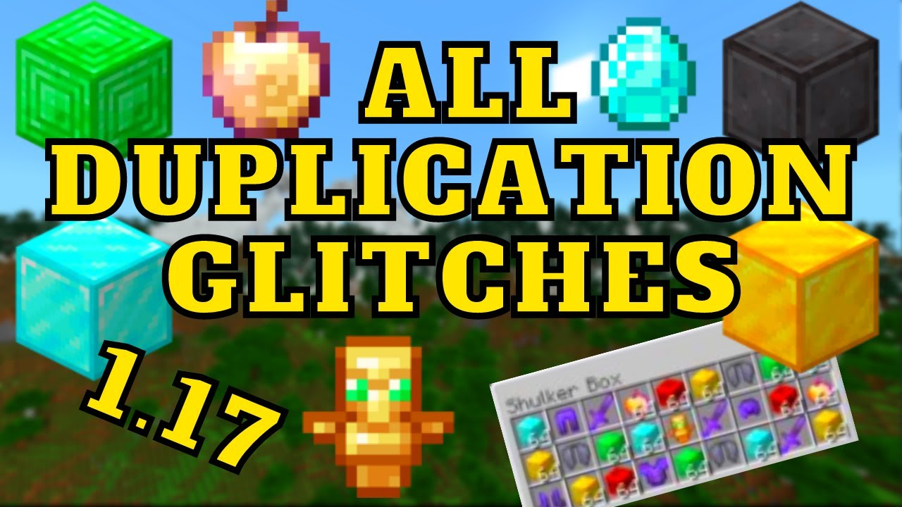 All  Working 1.17 Duplication Glitches For Minecraft Bedrock