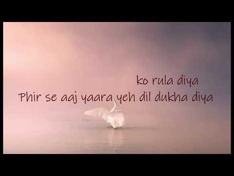 "Download Lagu  Ankit Tiwari & Dhvani Bhanushali ""Rula Diya"" song  s|By s Xposure Mp3 Free"