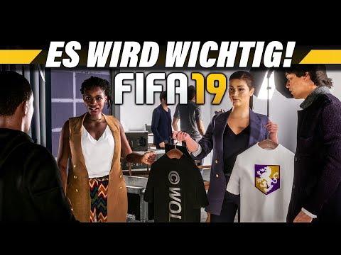 Eine wichtige Entscheidung – FIFA 19 The Journey Champions Deutsch #9 – Lets Play 4K Gameplay German