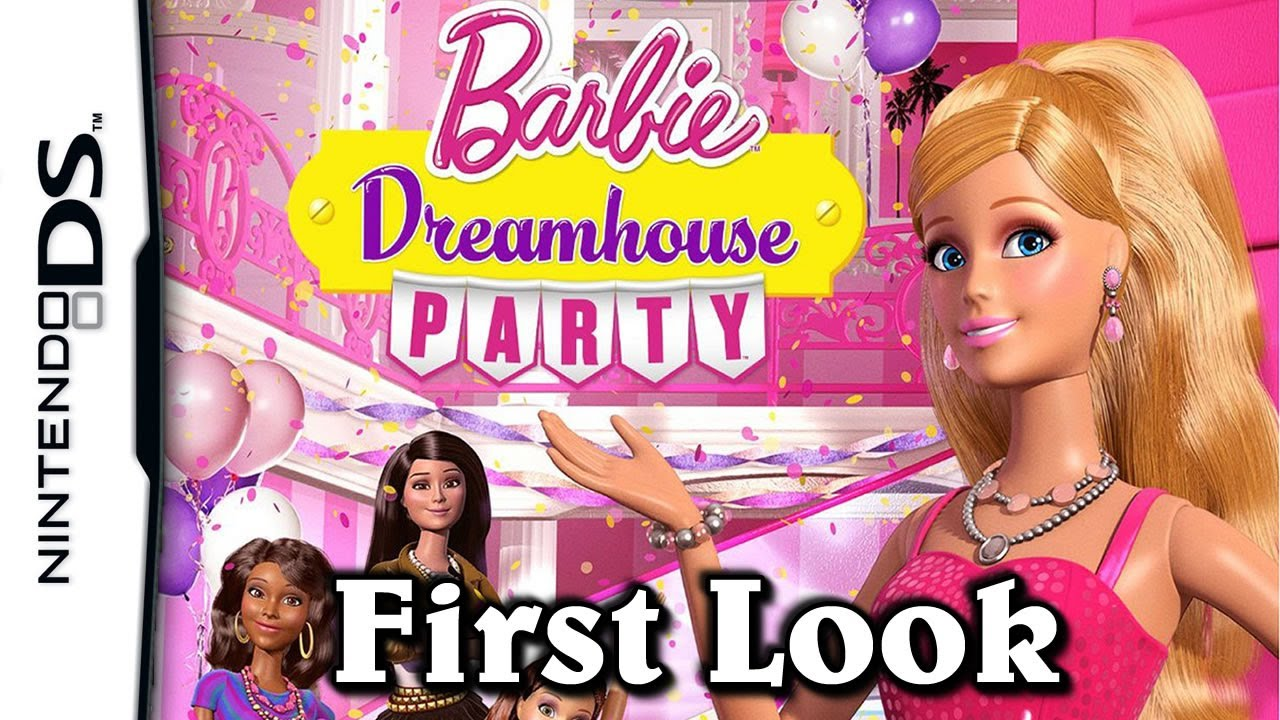 Barbie Dreamhouse Party First Look Nintendo Ds