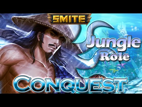 Susano Gameplay - Conquest Jungle - Smite