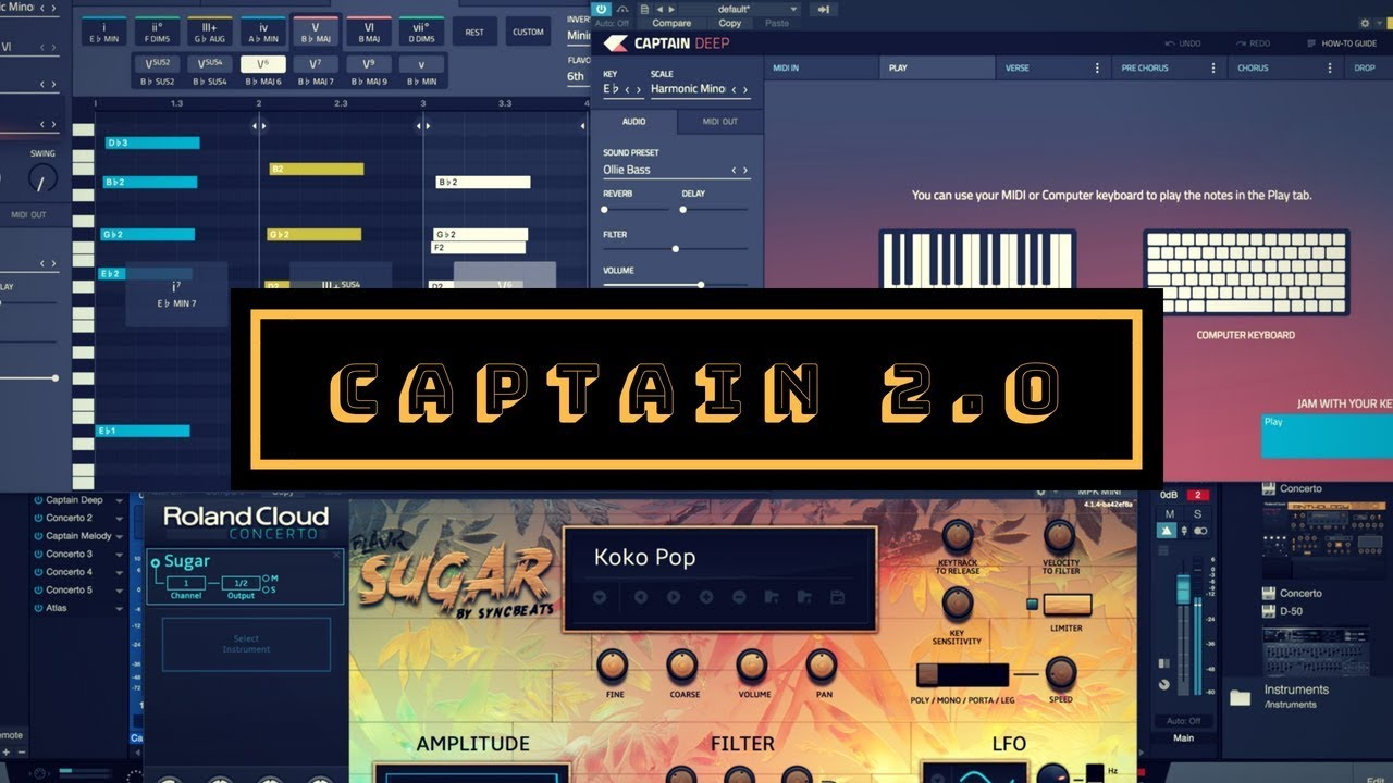 Captain Chords | Space & Strum | Workflow Tips (Studio One V4)