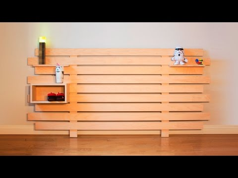 DIY Modular Headboard – Woodworking