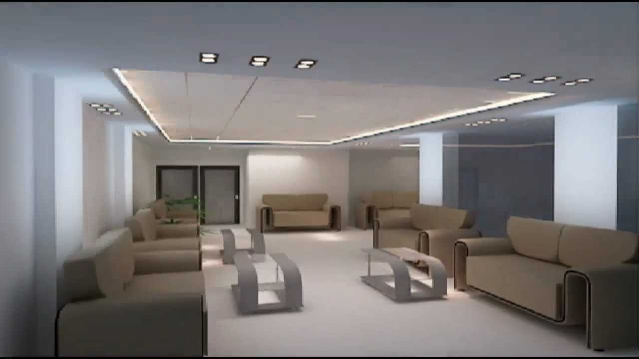 Samorita Hospital S Interior 3d View Youtube