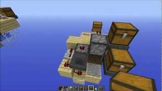 TUTORIAL - Fast Bonemeal Wheat Farm in Minecraft 1.8.1