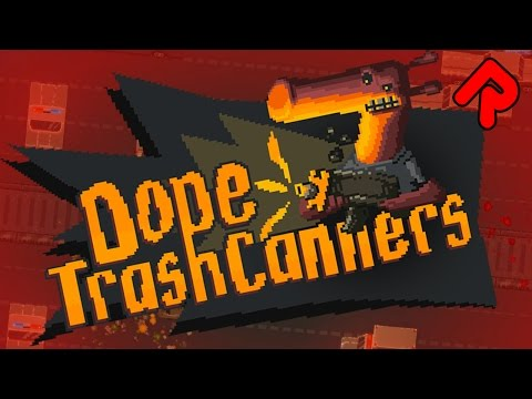 Dope TrashCanners: Online Shooter that Rewards Failure! | Let's play Dope TrashCanners gameplay