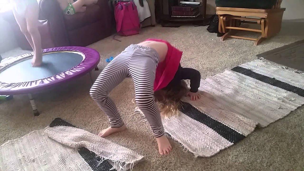gymnastics spreading