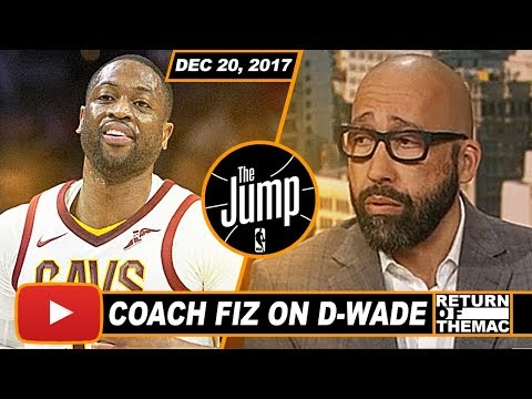 Coach Fizdale On The Impact Of Dwyane Wade Makes Off The Bench For Cavs | The Jump | Dec 20, 2017
