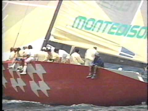 The Americas Cup'92 The 28th Defence Best of 7 Races part 5 Eng
