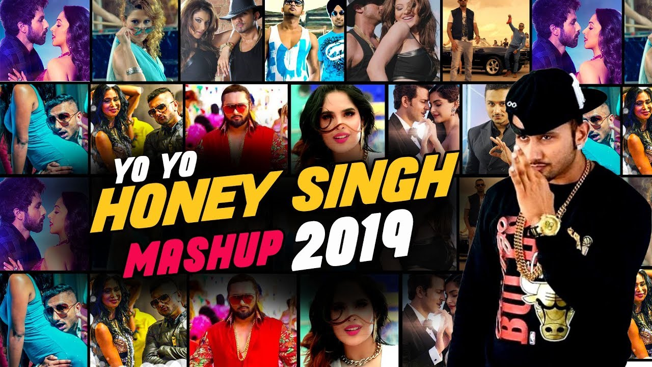 Yo Yo Honey Singh Mashup 2019 | DJ Goddess  | VDJ Jakaria | Honey Singh Song