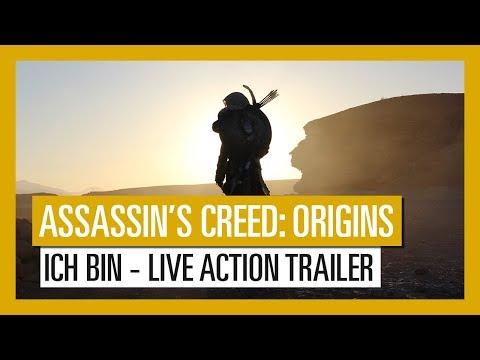 Assassin's Creed Origins: ICH BIN (Live Action-Trailer)   Ubisoft [DE]