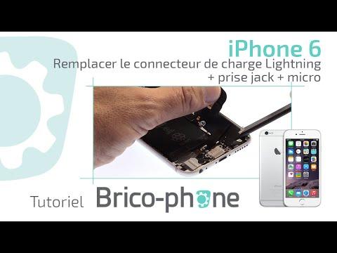Tuto Iphone Changer Le Connecteur Lightning De Charge Prise Jack Micro