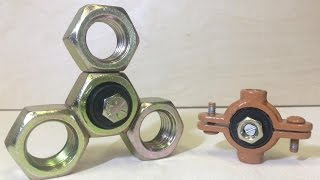 DIY METAL FIDGET SPINNERS | How To Make Hand Spinner Fidget Toys