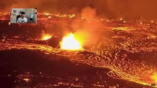 Hawaiian Volcano 2018 ERUPTION Aerial Footage