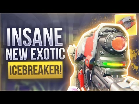 Destiny THE INSANE ICEBREAKER EXOTIC SNIPER IS BACK - Destiny NEW Dawning Update Exotic Weapons