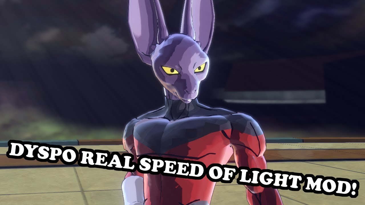 Dyspo Real Speed Of Light Mod Dyspo The Sonic Warrior Vs Hit Dragon Ball Xenoverse 2 Mods Youtube