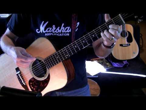 Practicing D Fancy Chords - D Dsus2 Dsus4
