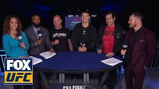 Al Iaquinta, Matt Serra, and Ray Longo talk with the UFC on FOX crew | INTERVIEW | UFC on FOX