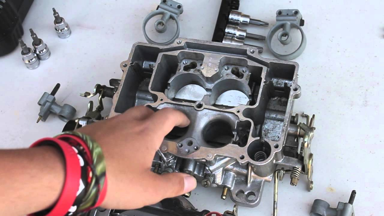 Carburetor disassemble/Clean how to