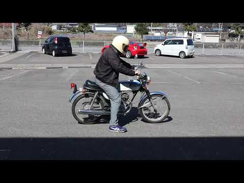【旧車バイク販売 VRP】ホンダ CB50 初期型 始動&走行動画 ベンリィCB50