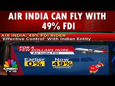 Air India can Fly with 49% FDI   After the Bell   CNBC TV18