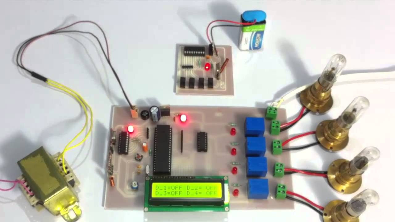 Mini projects on home automation system