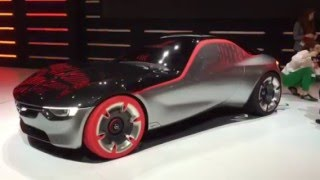 Opel Gt Concept - Live At The Geneva Motor Show