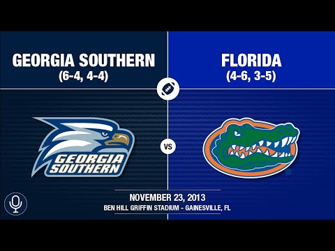 2013 Week 13 - Georgia Southern at Florida (GS Radio)