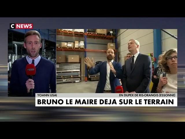 CNEWS - Mistral Constructeur, premier déplacement gouvernemental pour Bruno Lemaire