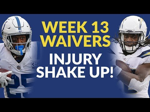 Injuries To Melvin Gordon And Marlon Mack Take Center Stage In The Week 13 Waiver Wire